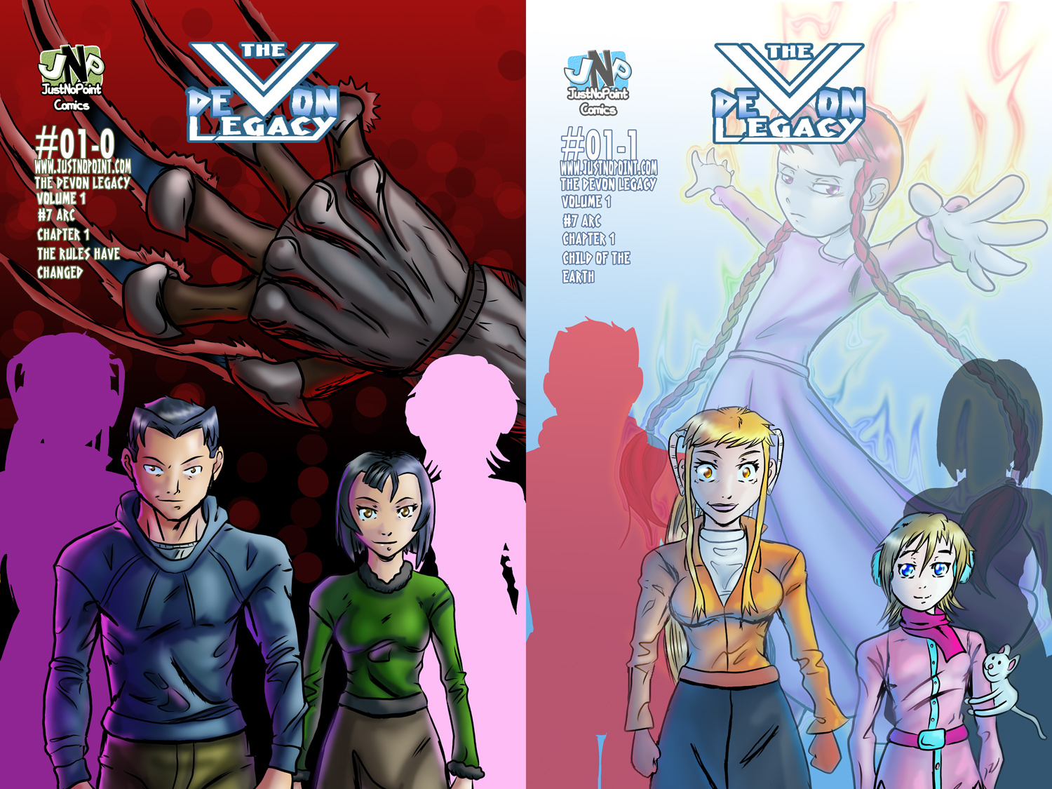 Alternate covers for Issue 1